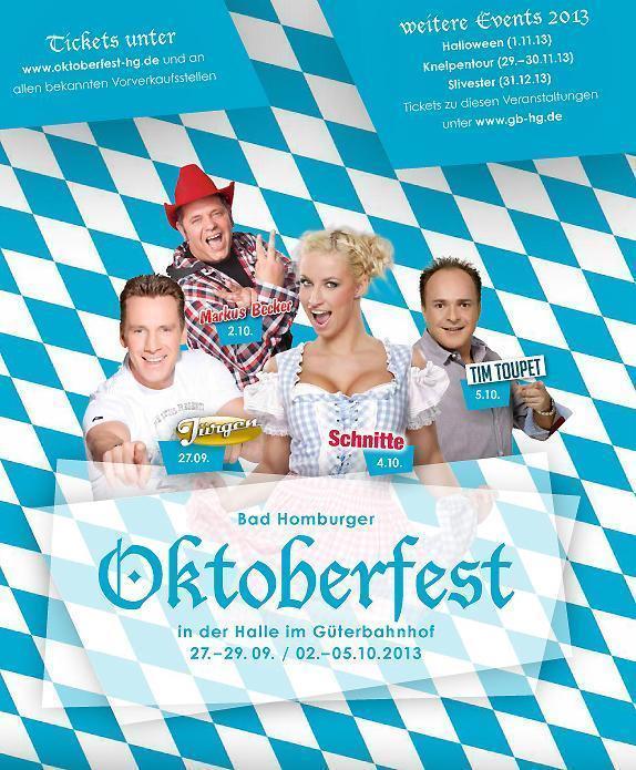 2013 Oktoberfest im Güterbahnhof, Bad Homburg