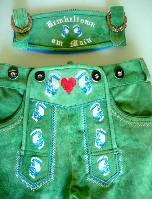 Bembeltown Lederhose | Hotpants