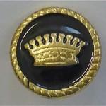 Goldene Krone - Chunk Knopf Krone