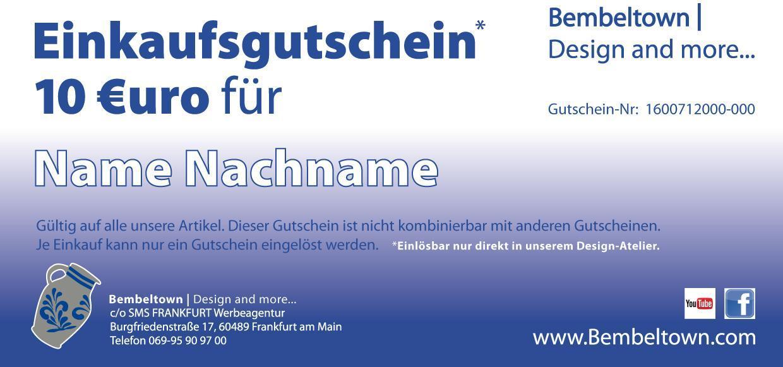 gutschein frankfurt marathon