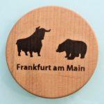 BULL & BEAR - Bulle und Bär Schoppedecke #Apfelwein #Deckel
