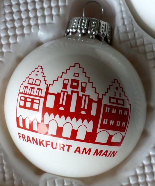 Exklusive Geschenke aus Frankfurt #Weihnachtskugeln