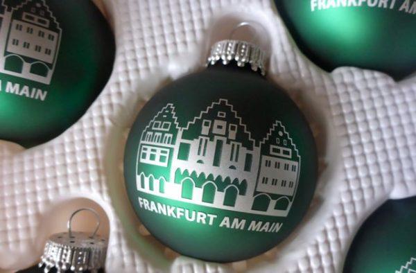 Weihnachtsmarkt - Weihnachtsdekoration Frankfurter Römer
