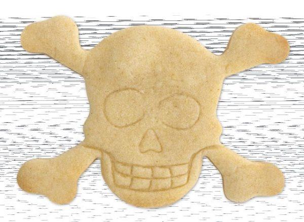 Totenkopf Ausstecher - Plätzchenform #Totenkopf #Skull