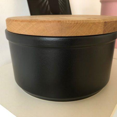Brottopf in schwarz-matt #Brottopf