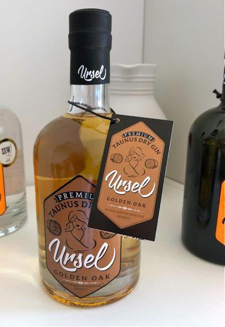 Taunus Gin Premium Golden Oak #GinLover