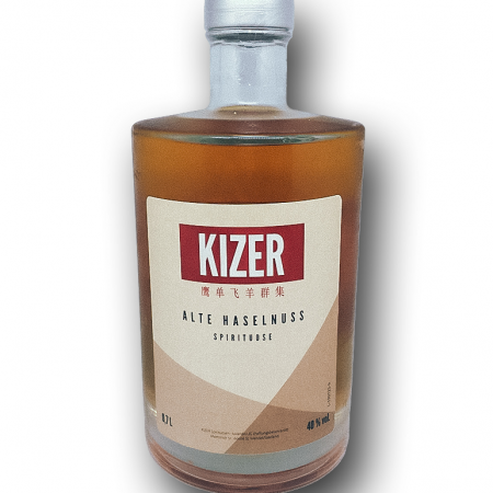KIZER DRINKS - Alte Haselnuss