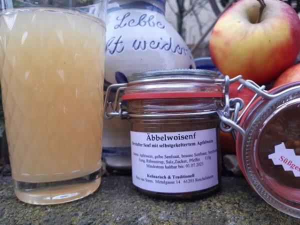 Süßgespritzter Apfelweinsenf #FrankfurtSenf