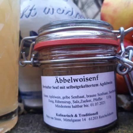 Apfelwein Senf sauergespritzt