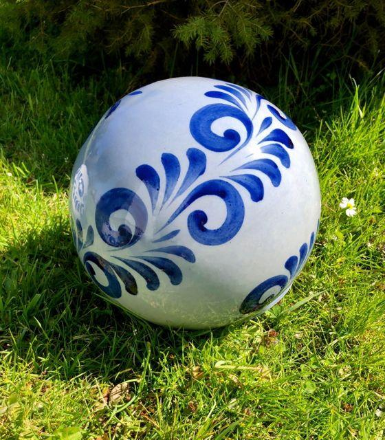 Große Bembel Kugel #Gartendekoration