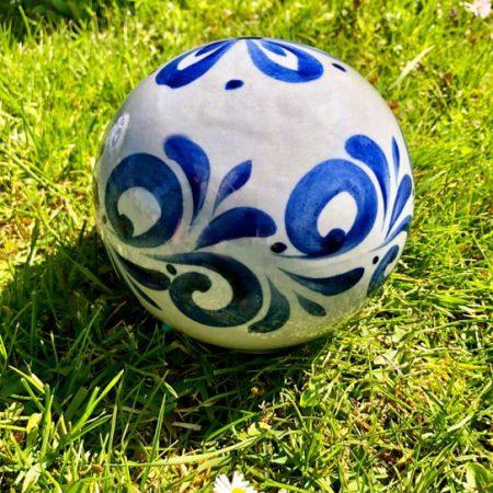 Kleine Bembel Kugel für Haus und Garten #Bembelkugel
