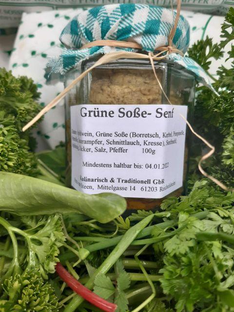 Frankfurter Grüne Soße Senf
