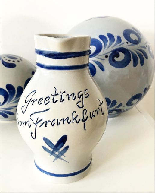 Greetings from Frankfurt Bembel