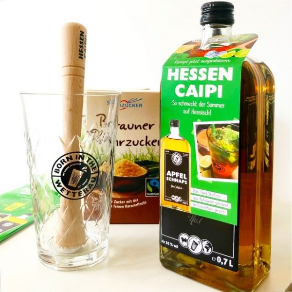 Apfelschnap aus Hessen - Hessen Caipi