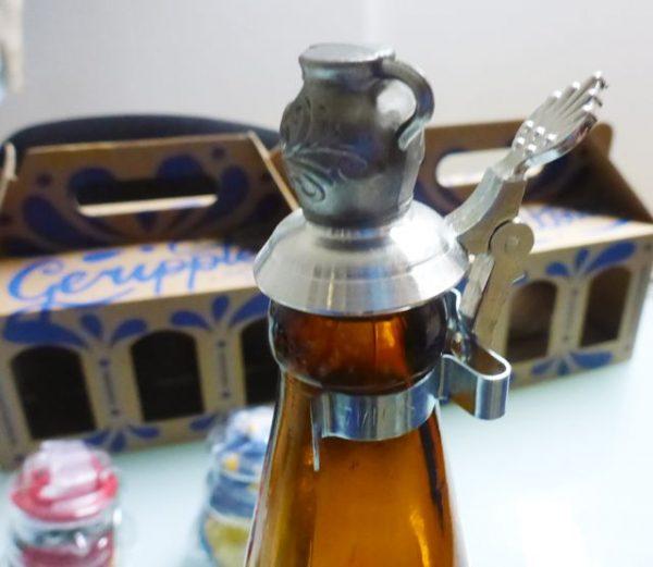 Flaschenverschluss mit Bembel