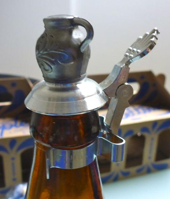 Zinn Bembel Flaschenverschluß