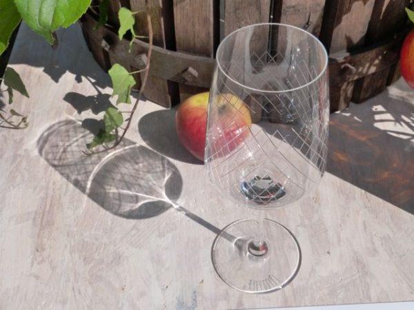#Rippstiel Weinglas - Das gerippte Weinglas