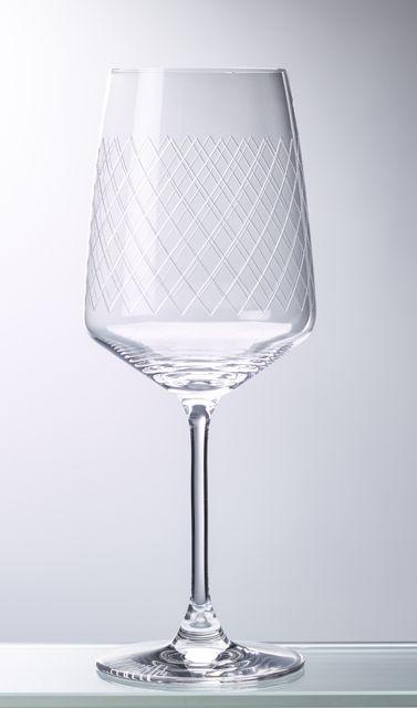 Geripptes Weinglas - Weingläser von Rippstiel