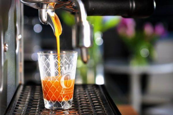 Frankfurter Espresso Glas Gerippt