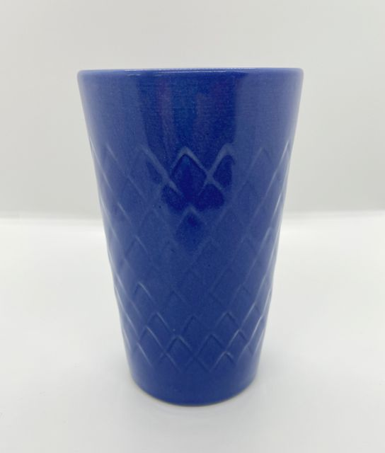Blauer Apfelweinbecher 0,3L