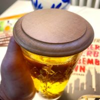 Schoppe Deckel für Apfelweinglas