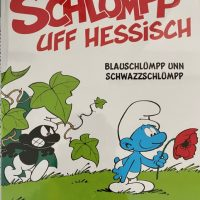 Die Schlümpp - Hessisches Comicbuch #Schlümpfe