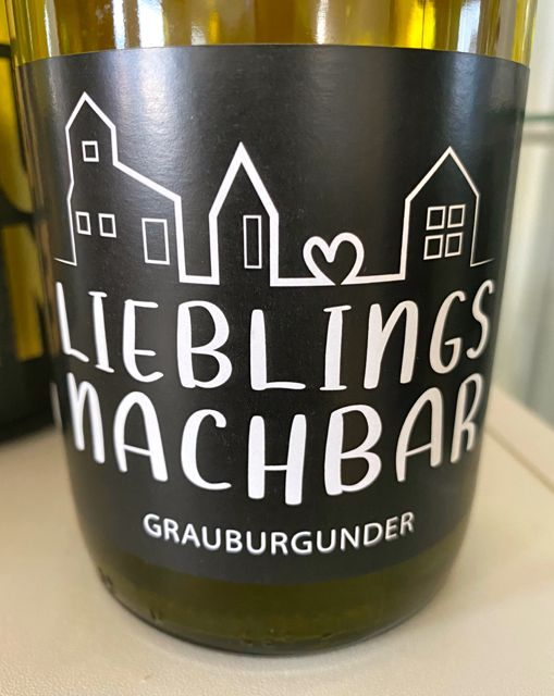 #Lieblingsnachbar #Grauburgunder