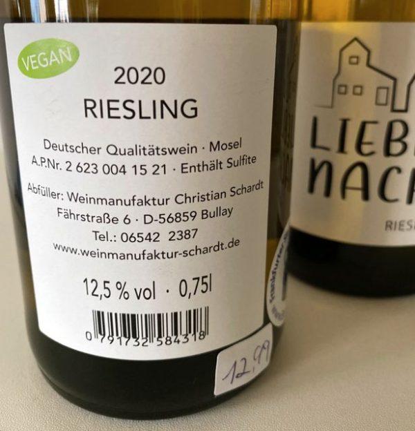 Lieblingsnachbar Wein Riesling